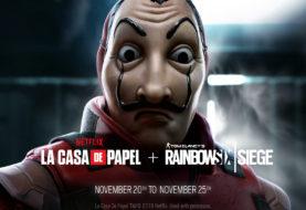 La Casa de Papel llega a Rainbow Six para un evento especial este fin de semana y se podrá jugar gratis