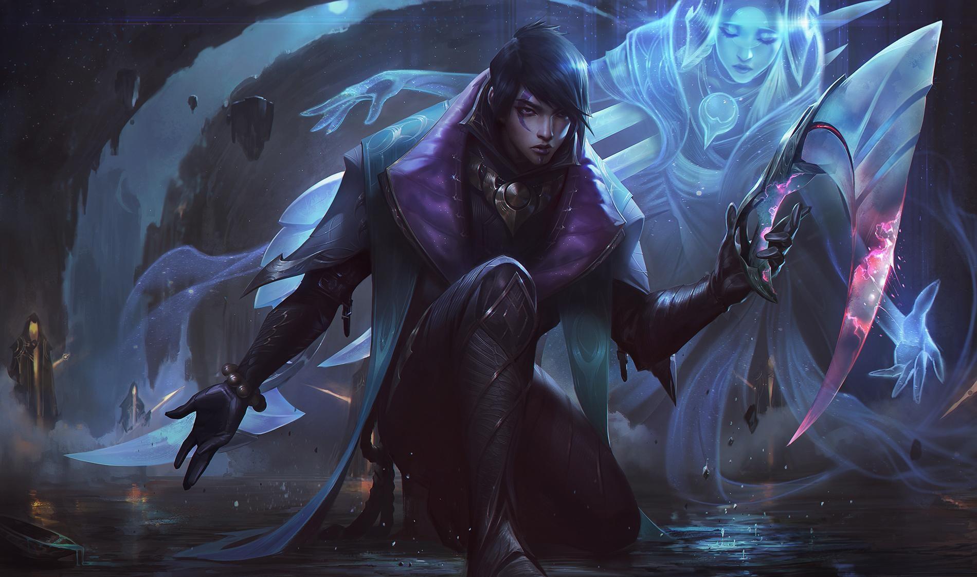 Riot Games anunció a Aphelios, el nuevo campeón de League of Legends