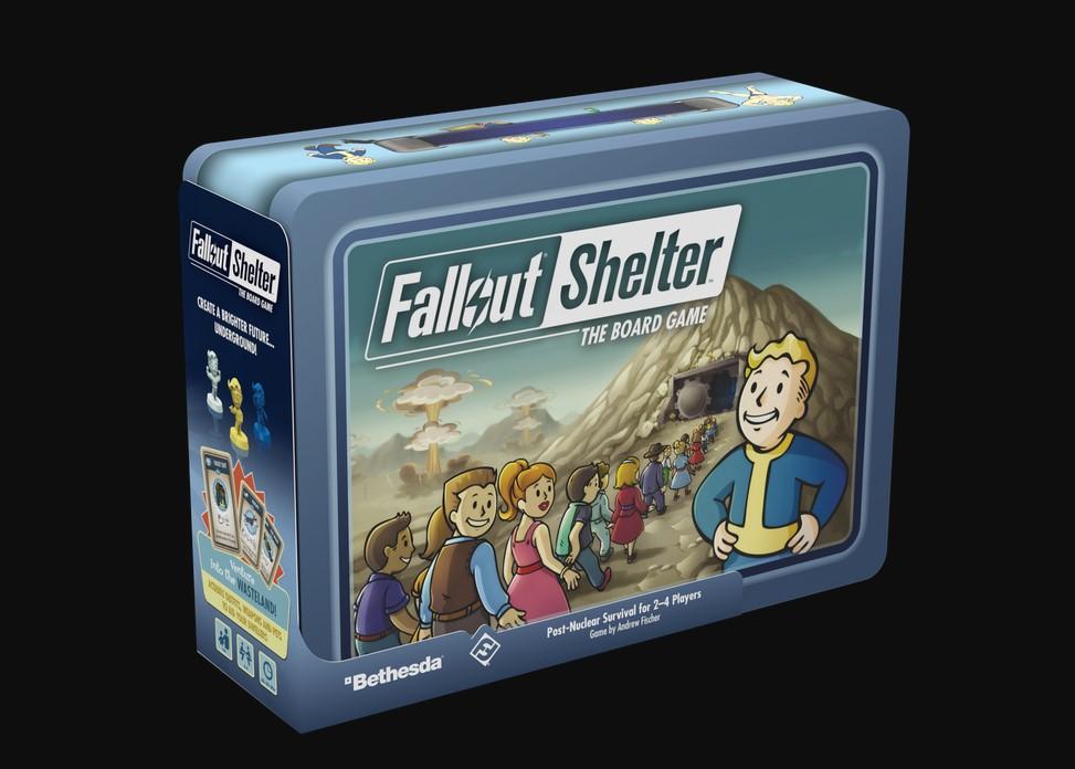Bethesda prueba por todos lados: Fallout Shelter lanza su juego de mesa