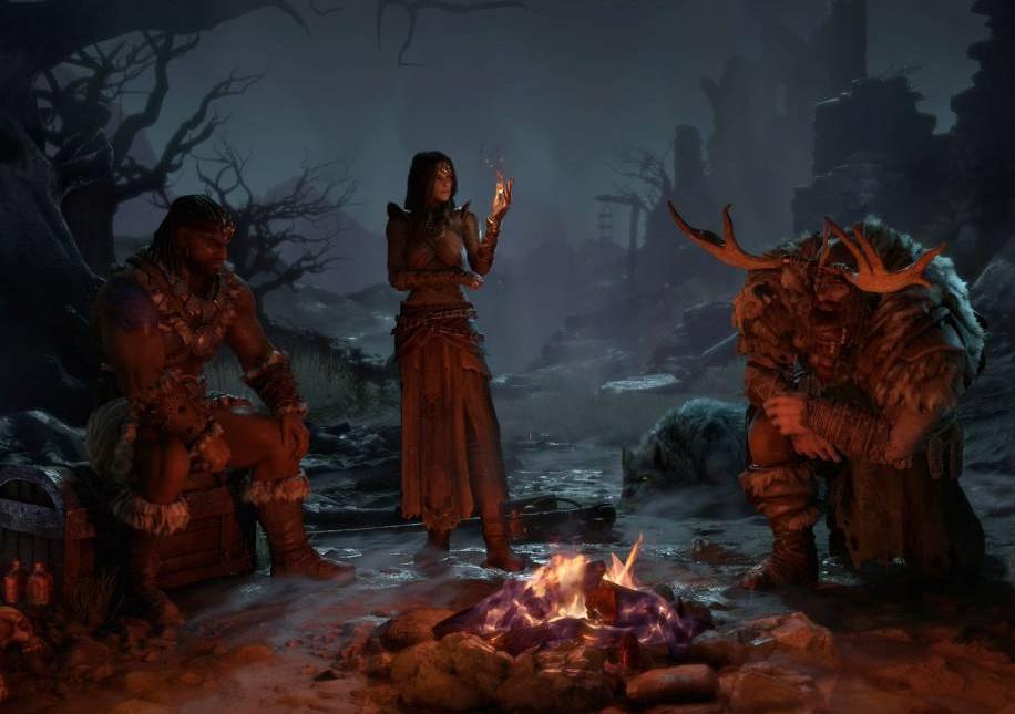 Diablo IV mostró las habilidades que tendrán sus personajes: el bárbaro, el druida y la hechicera