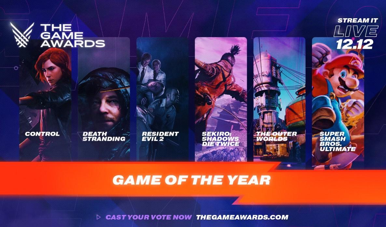 Ya están los nominados al Game of The Year 2019: ¿Death Stranding la tiene fácil?