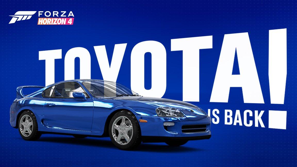 Después de años de ausencia Toyota vuelve a licenciar sus autos para juegos de carreras