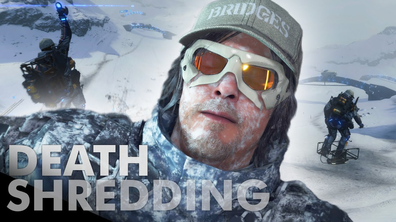 Un youtuber creó una pista de esquí en Death Stranding y mostró cómo funciona