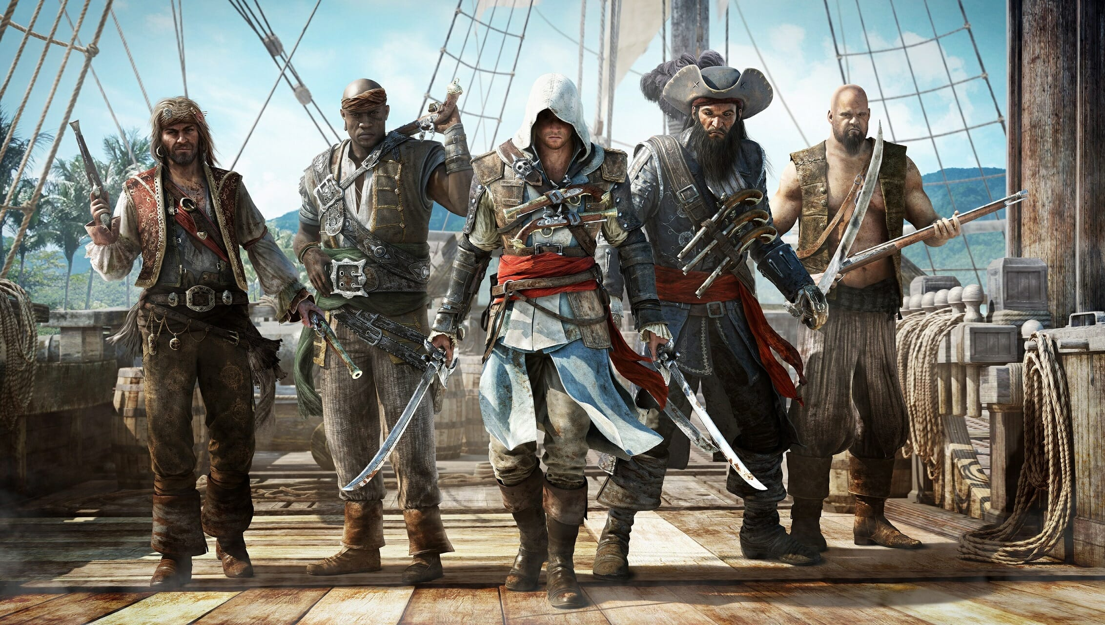 Assassin's Creed Black Flag tiene su versión en 4K y con raytracing