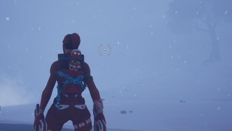 Ya se puede jugar al Fortnite con mucha nieve