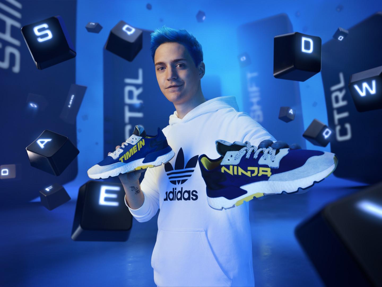 Adidas presentó las primeras zapatillas en colaboración con Ninja