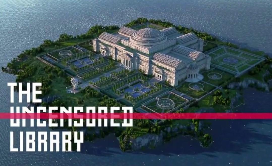 Minecraft contra la censura: por el Coronavirus, crean una biblioteca virtual dentro del juego
