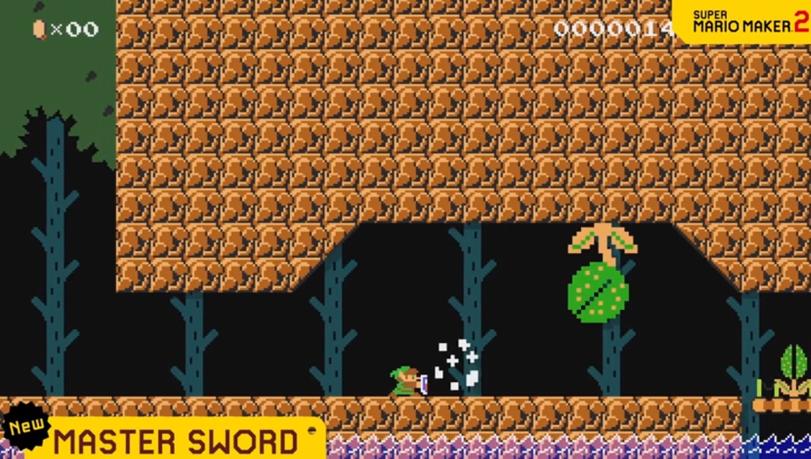 """""""A Legendary Update"""": Super Mario Maker 2 se actualiza y ahora se puede jugar como Link con la espada maestra"""