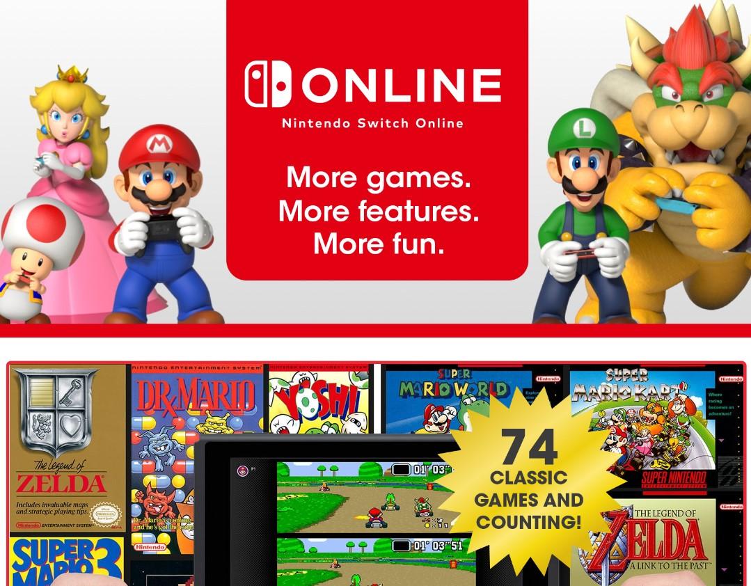 Nintendo agrega 6 clásicos al servicio Online de NES y Super Nintendo en Nintendo Switch Online