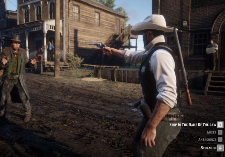 ¿Te gustó usar la placa de sheriff en Red Dead Redemption 2? Un mod te permite cambiar de bando y ser la ley