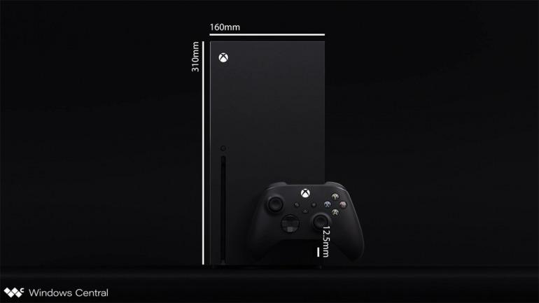 Así serán las dimensiones de Xbox Series X en comparación a la Xbox One