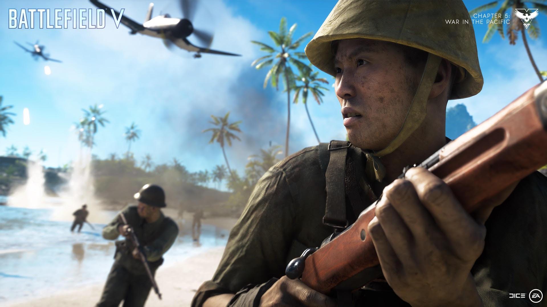 Battlefield V anuncia el regreso de la Isla Wake, el mapa más popular de la franquicia