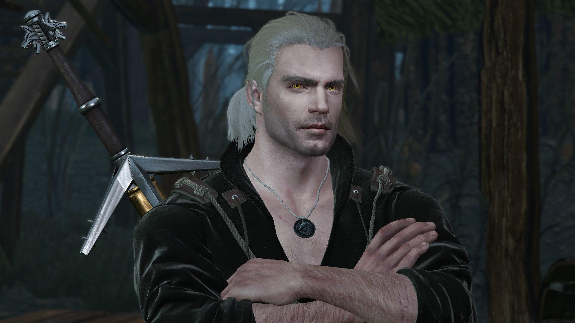 Gracias a los modders ya se puede jugar The Witcher 3 con Henry Cavill como Geralt