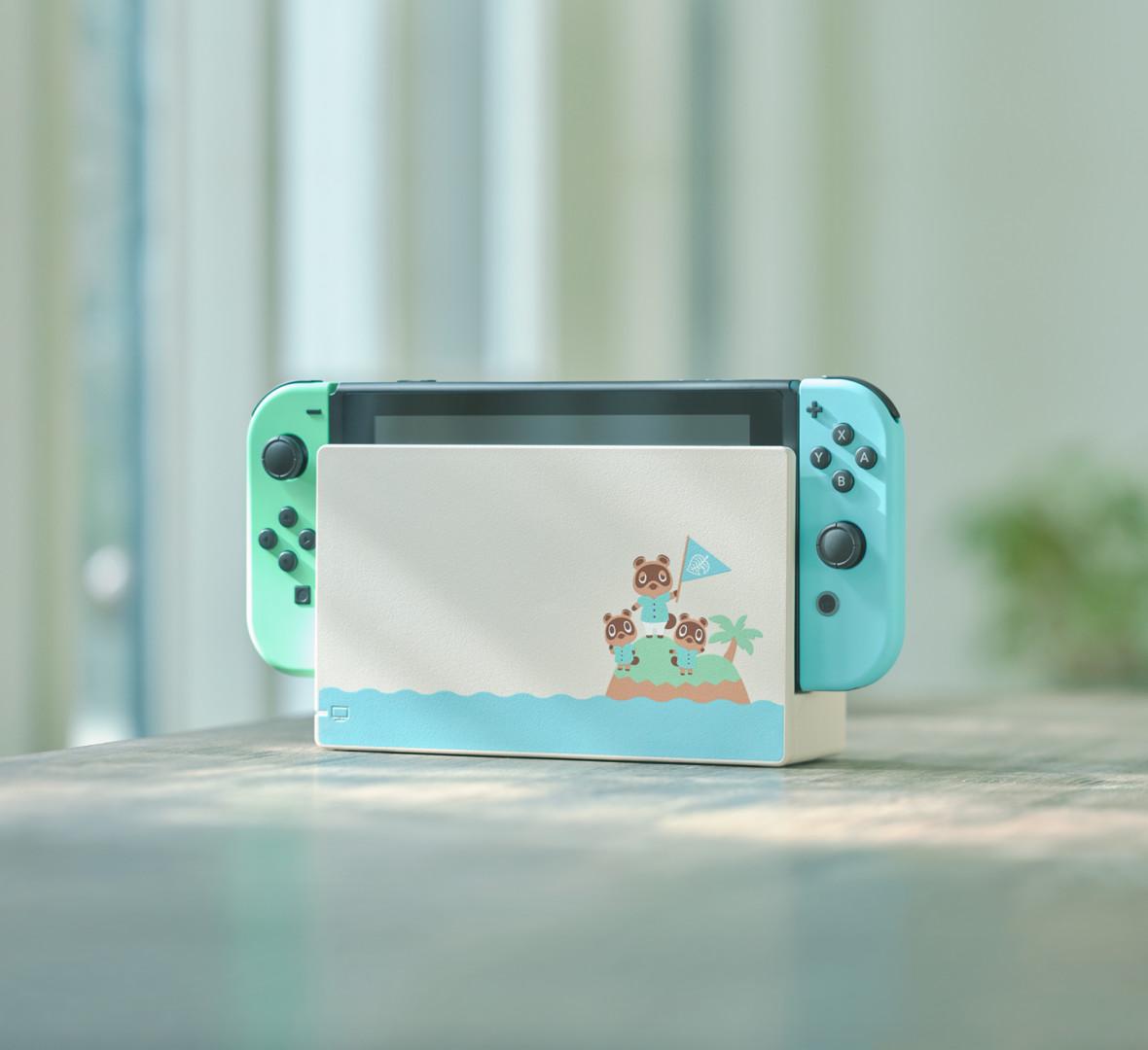 Nintendo Switch presentó la edición Animal Crossing