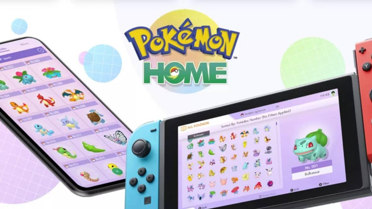 Pokémon Home: fecha, precios y funciones de la plataforma en la nube