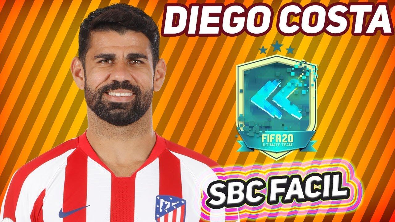 Diego Costa también tiene su carta Flashback en FIFA 20 de Ultimate Team