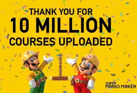 Super Mario Maker 2 sobrepasó los 10 millones de niveles subidos por usuarios