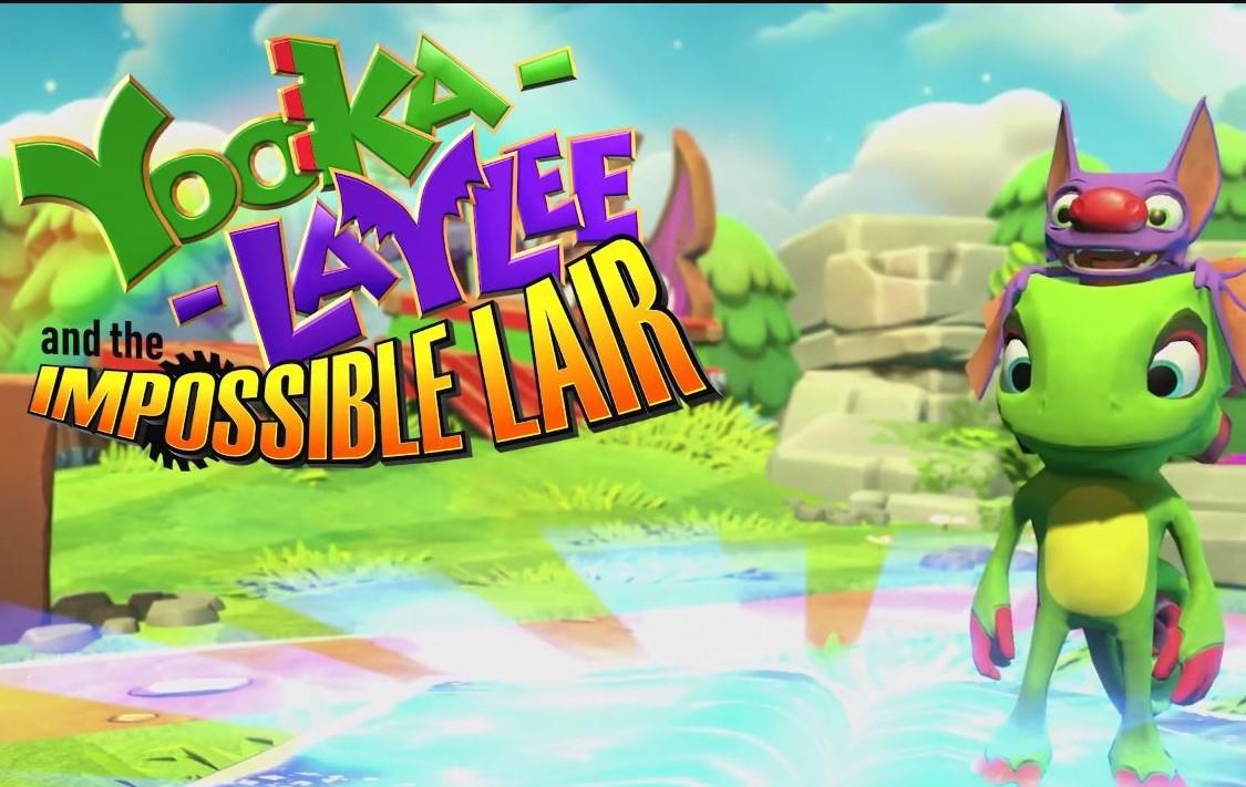 """""""Yooka-Laylee y la guarida imposible"""" tendrá demo pronto y una actualización con mejoras"""