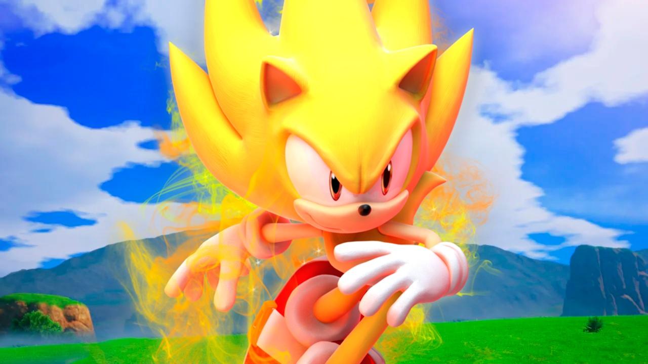 Sonic se convierte en Super Saiyan en Dragon Ball Z Kakarot