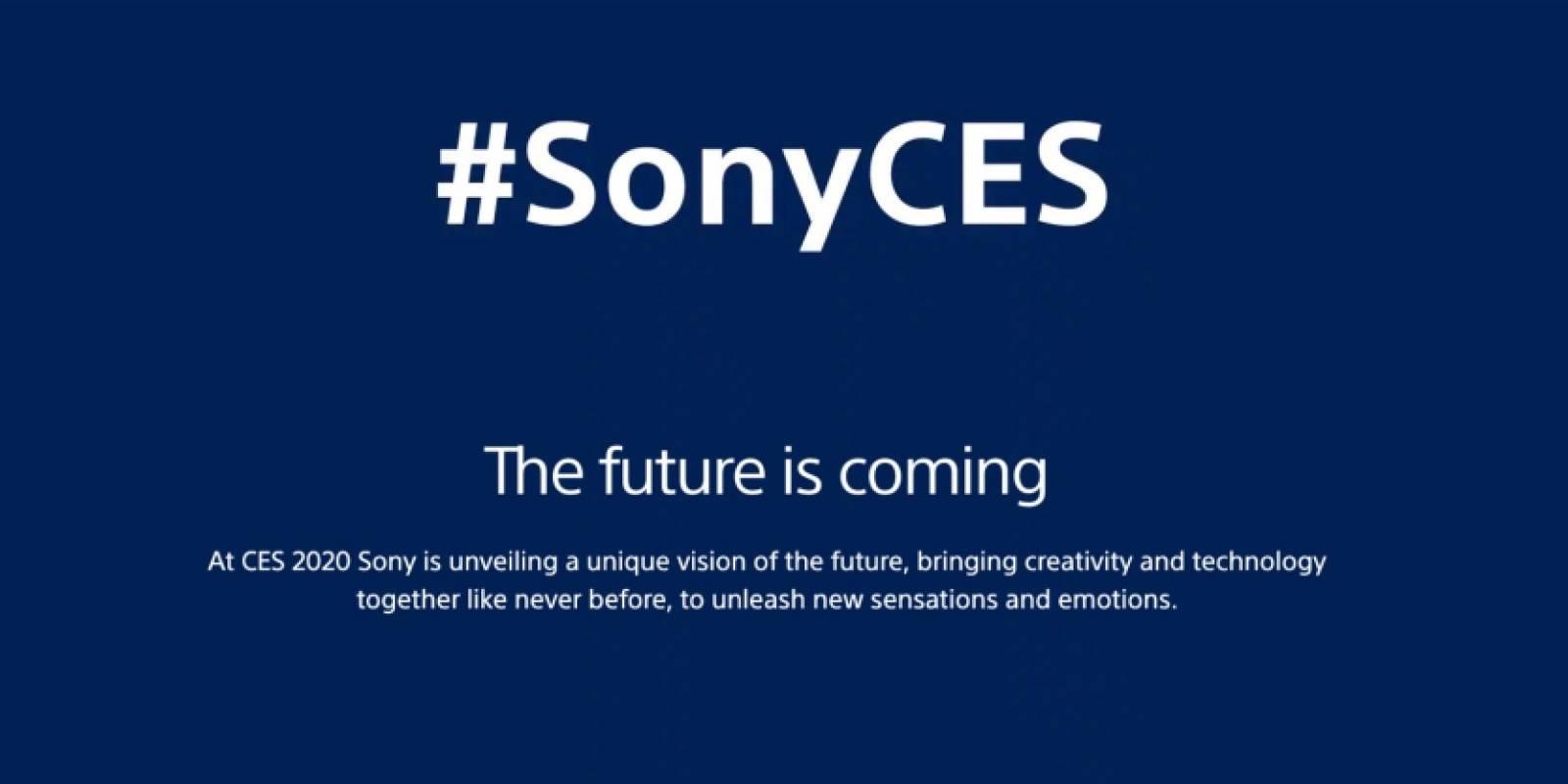 [TERMINADO] Así fue la conferencia de Sony en la CES 2020: oficializaron el nunevo logo