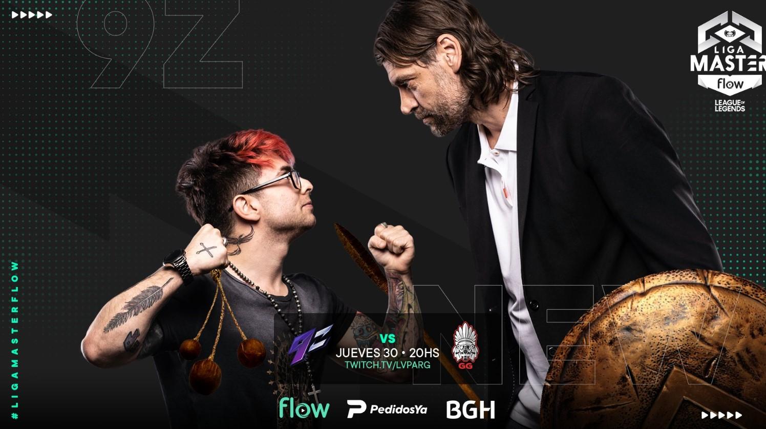 Liga Máster Flow de League of Legends: 9z cortó la racha ante New Indians GG, en el choque entre David y Goliat
