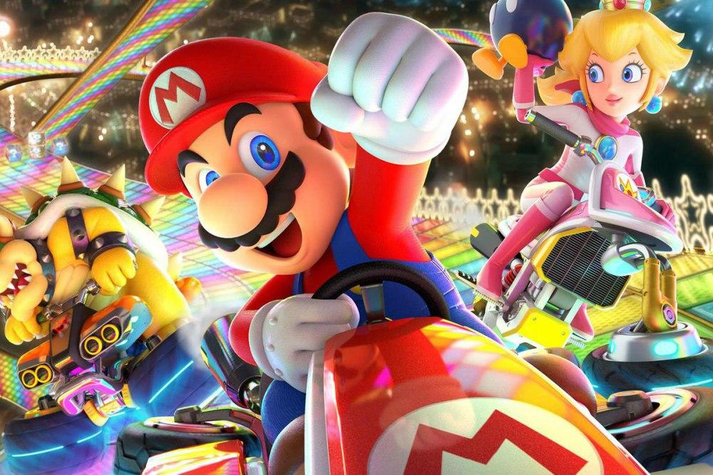 Mario domina en todas las pistas: Mario Kart 8 es el juego de carreras más vendido en los Estados Unidos