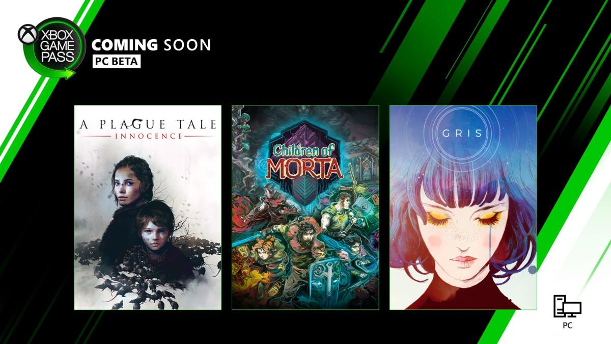 Tres grandes juegos del 2019 se suman al catálogo de Xbox Game Pass para PC