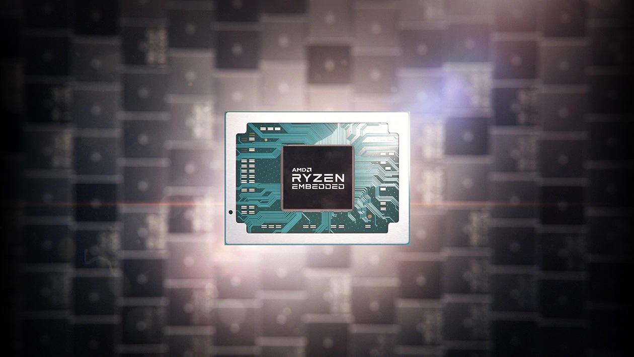 AMD presentó dos nuevos procesadores Ryzen Embedded R1000