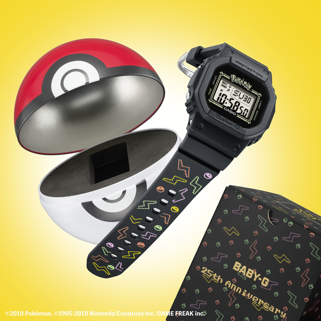 Casioy Pokémon se unen para lanzar un reloj en homenaje a Pikachu