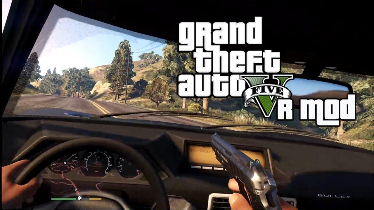 Gran Theft Auto V tendría su versión VR gracias a un extraordinario mod