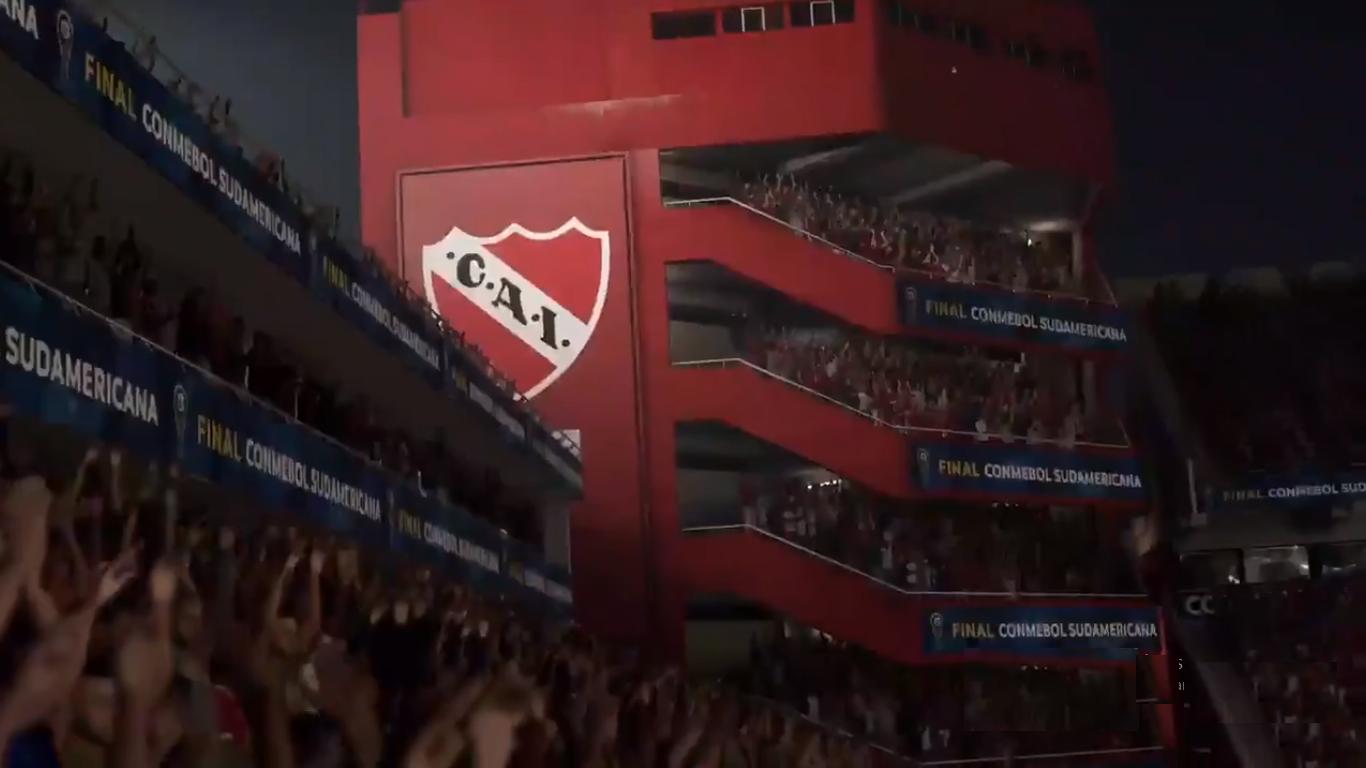 El Libertadores de América estará presente: el estadio de Independiente será incluido en la próxima actualización del 3 de marzo para FIFA 20