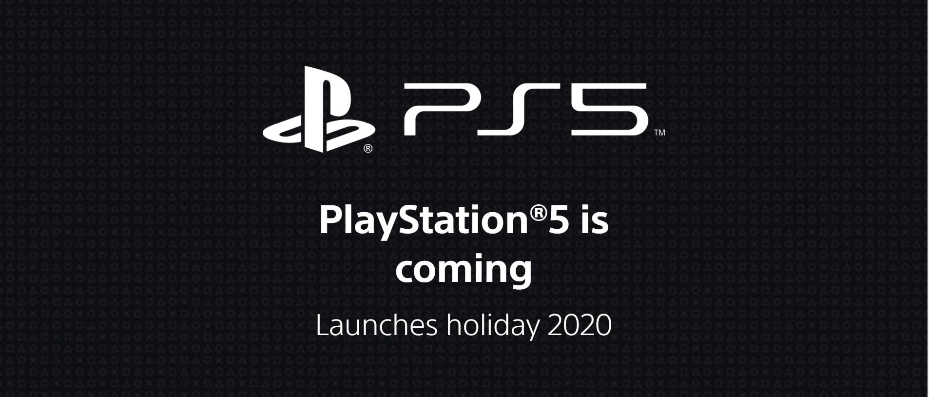 Sony lanzó la página web de la PS5 y es inminente su anuncio oficial