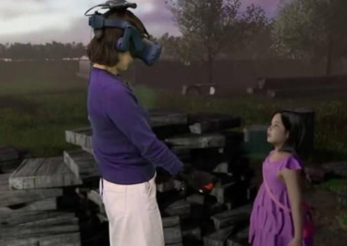 Novedoso y perturbador: una madre se encontró con su hija fallecida a través de realidad virtual