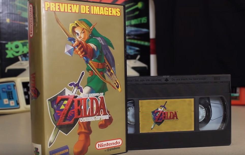Recuperan un video casete promocional de Zelda: Ocarina of Time de antes de su debut oficial