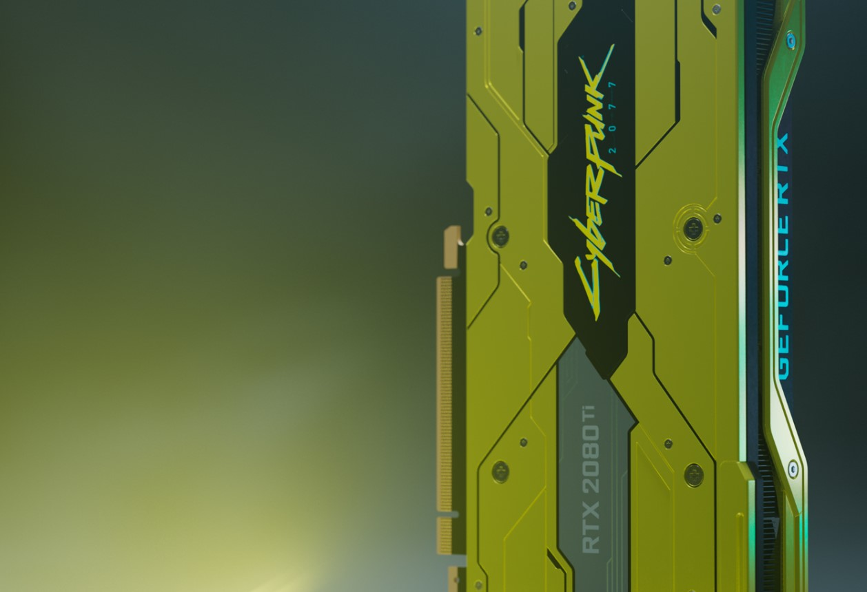 Nvidia dio a conocer su edición Cyberpunk 2077 de la RTX 2080 Ti