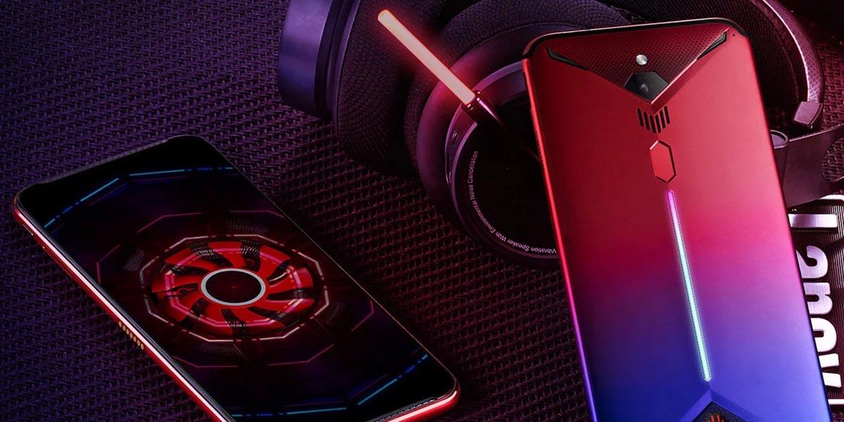 Nubia presentó su nuevo smartphone gamer con 16 GB de RAM y una tasa de refresco de 144 Hz