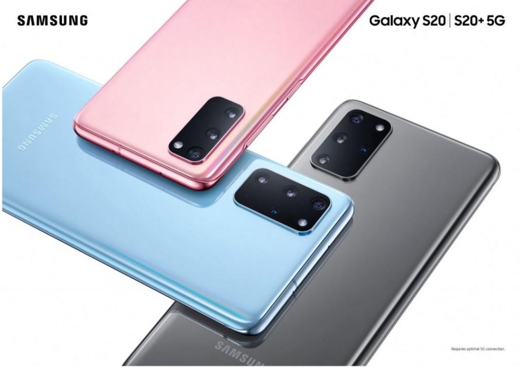 Galaxy S20 y S20 Plus: características y precios de los nuevos buques insignia de Samsung