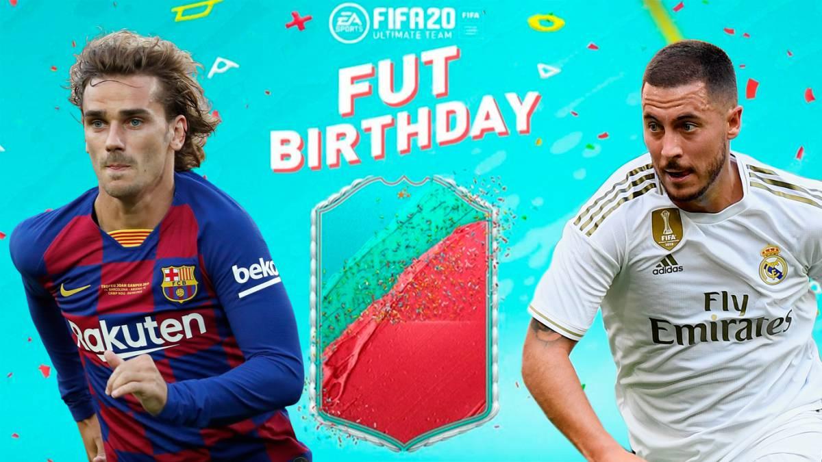 Se confirmó el primer equipo de FUT Birthday en FIFA 20 para Ultimate Team