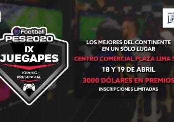 Se anunció el IX JUEGAPES, la novena edición de la competencia de PES 2020 más importante en Perú
