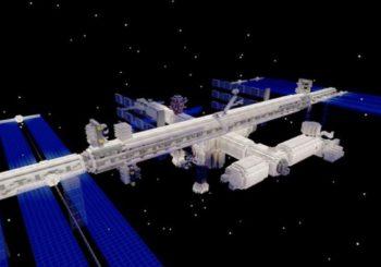 Minecraft te permite recorrer ahora la Estación Espacial Internacional