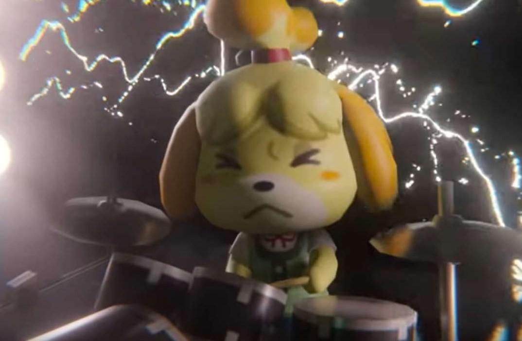 Animal Crossing festeja junto a Doom ambos lanzamientos con una banda de metal