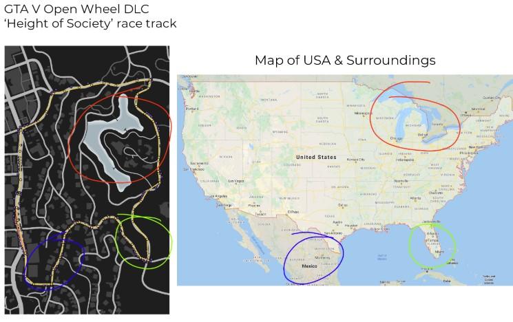 Los fans de GTA creen haber descubierto una pista sobre dónde tendría lugar un posible GTA VI