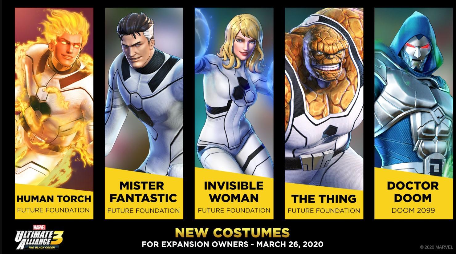 Los 4 fantásticos llegan a Marvel Ultimate Alliance 3 a través de un nuevo tráiler