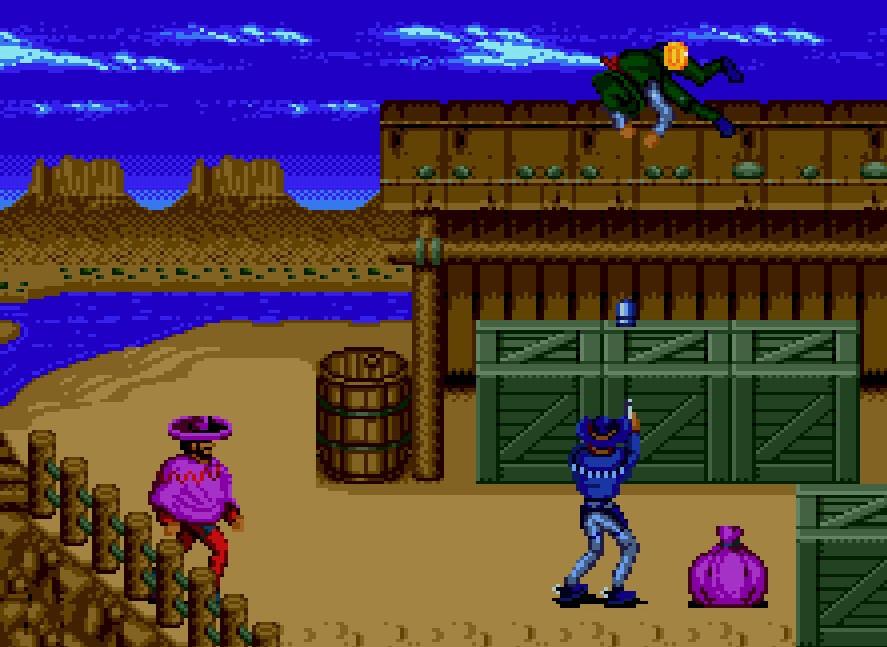 Sunset Riders, el clásico de los arcades de los 90, se podrá jugar en Nintendo Switch y PS4