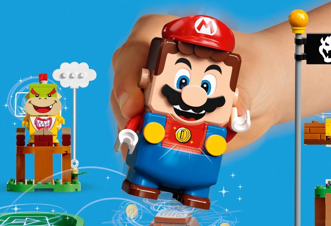 LEGO se une a Nintendo y anuncia lo que todos alguna vez quisimos: un set de Super Mario Bros interactivo