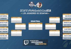 [EN VIVO] Arrancó el torneo #YoMeQuedoEnCasaIESA con los jugadores del Fútbol Argentino