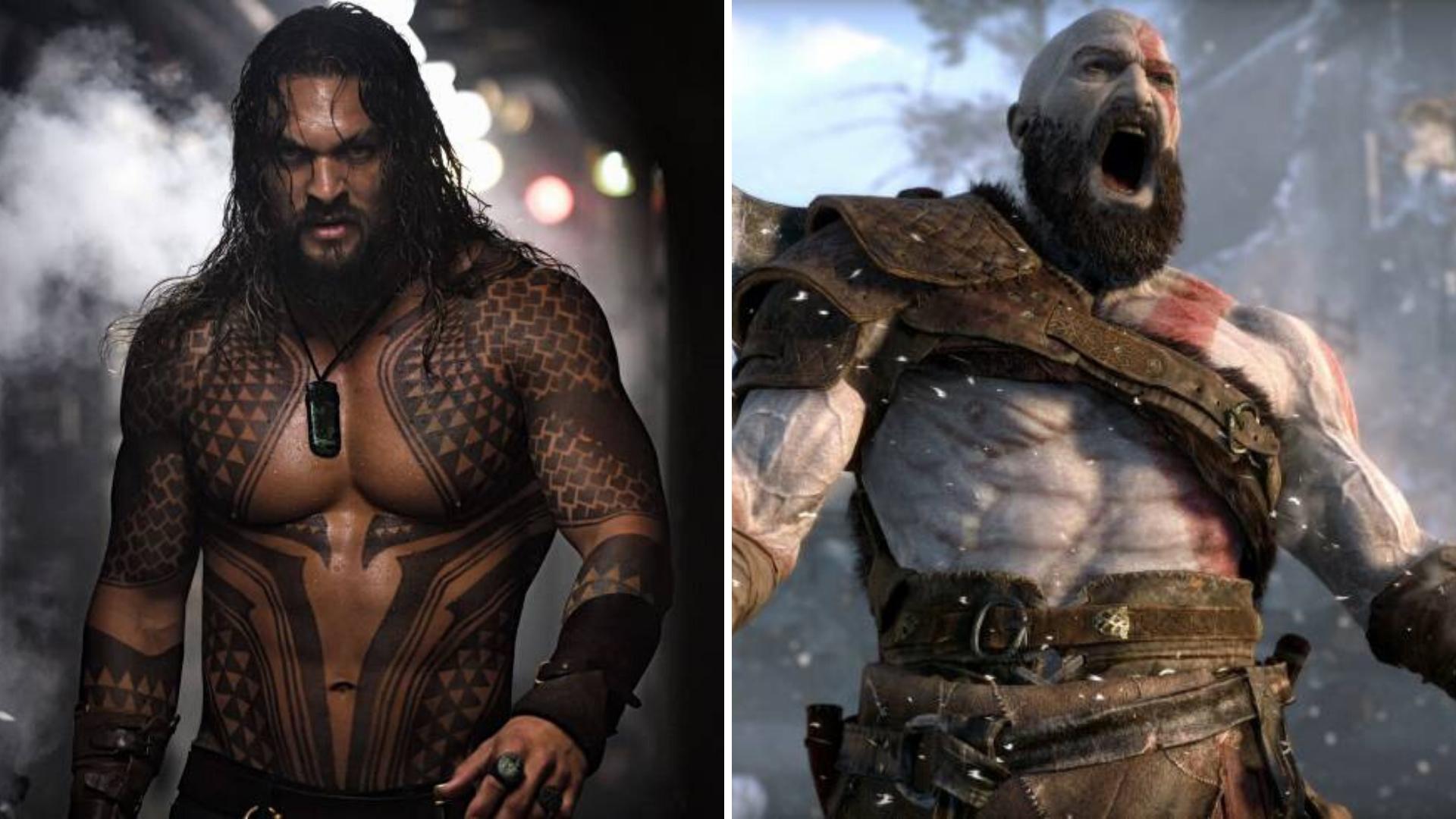 Jason Momoa podría interpretar a Kratos en la película God of War