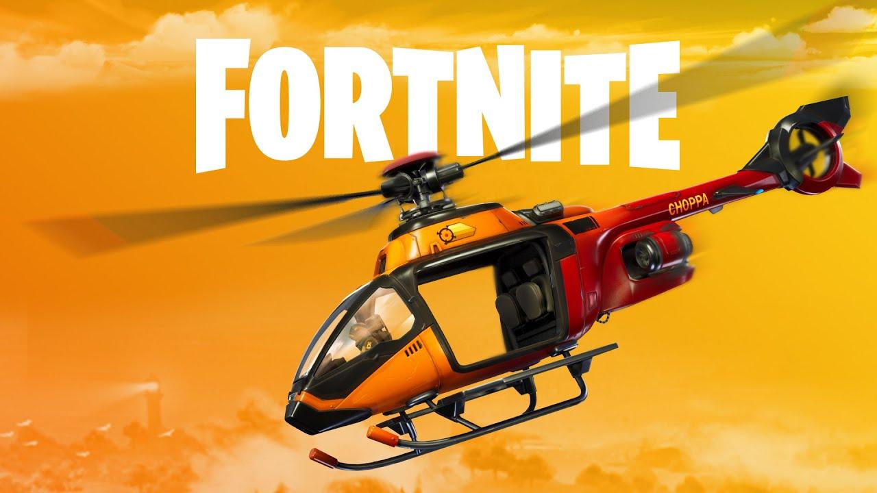 Las novedades del parche de Fortnite v12.20: un helicóptero y los Juegos de Espía aparecen en medio del Coronavirus