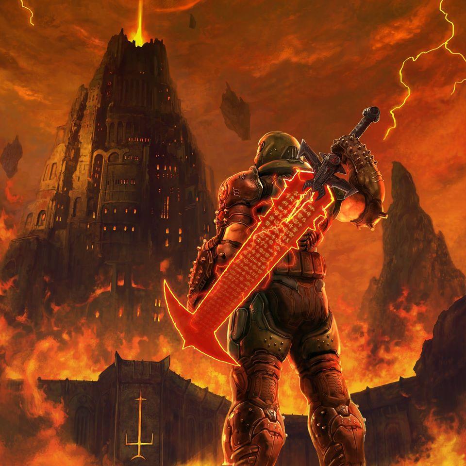 Doom Slayer en Shinra