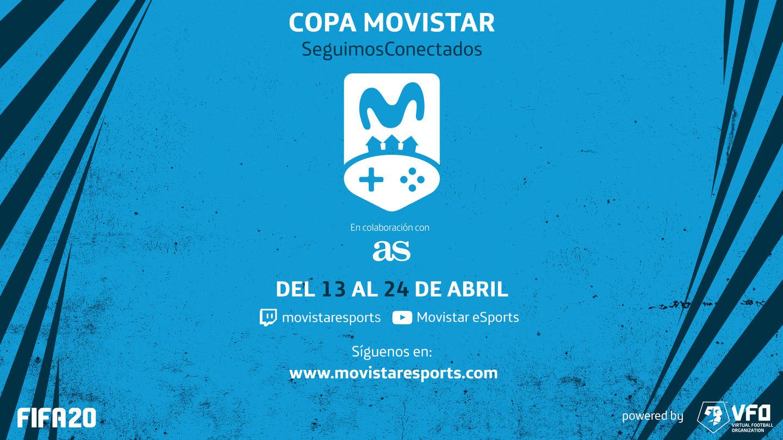 Así será la #CopaSeguimosConectado de Movistar para FIFA 20